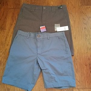 Two pairs of men's shorts size 34 waist